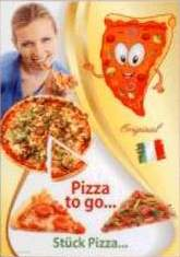 Standard Plakat PL 146. Pizza to go